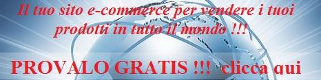 sito ecommerce gratis